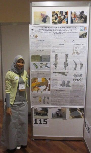 أول فتاة في الشرق الأوسط تنشر بحثًا متخصصًا في الحفريات الفقارية