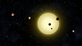 أنظمة الكواكب الخارجية تشبه حبات البازلاء في جرابها