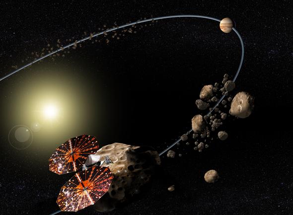 الكويكبات الملونة القريبة من نبتون تُميط اللثام عن لغز في المجموعة الشمسية