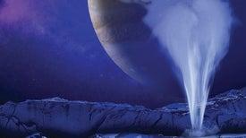 """آمال بعيدة المنال في الحصول على الماء على القمر """"أوروبا"""""""
