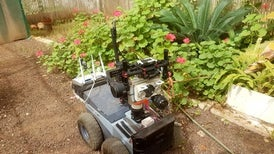 روبوت جديد يحاكي طريقة عمل الخفافيش