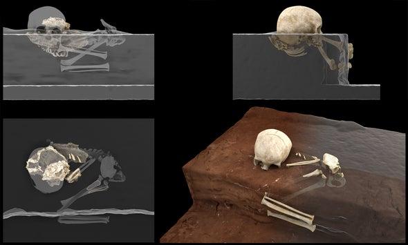 اكتشاف أقدم دليل على الدفن البشري في إفريقيا قبل 78000 عام