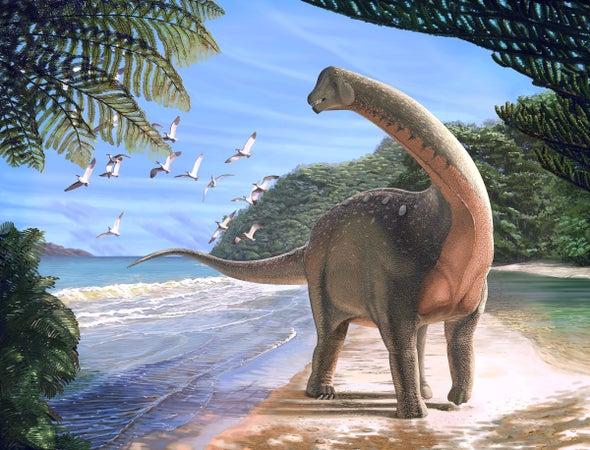اكتشاف الديناصور المصري «منصوراصورس»
