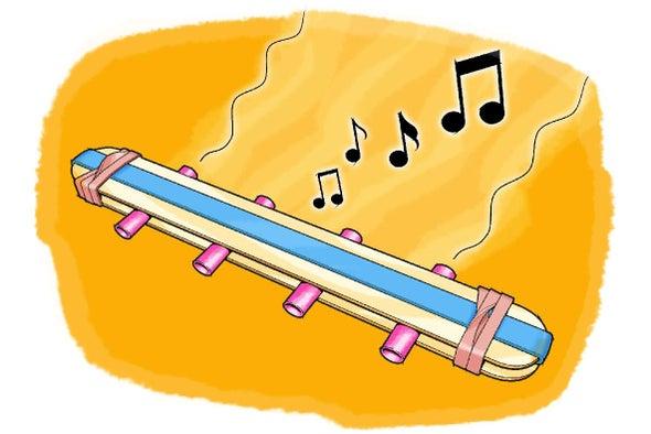 علم الصوت: اصنع آلتك الموسيقية!