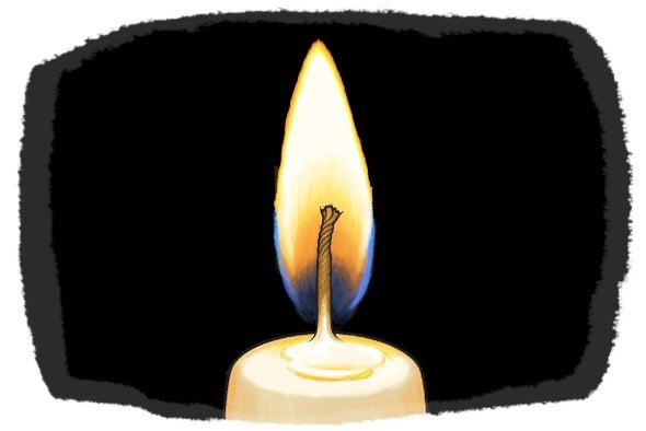 كيف تجعل الشعلة تقفز من شمعة إلى أخرى