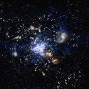 علماء يرصدون ميلاد أكبر المجرات العنكبوتية