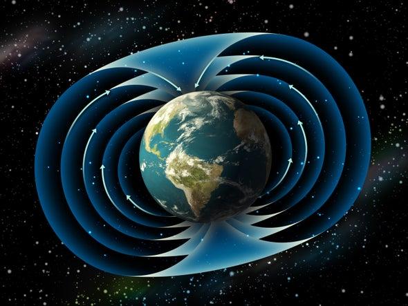 انعكاس المجال المغناطيسي للأرض استغرق ثلاثة أمثال الوقت الذي كنا نظنه من قبل
