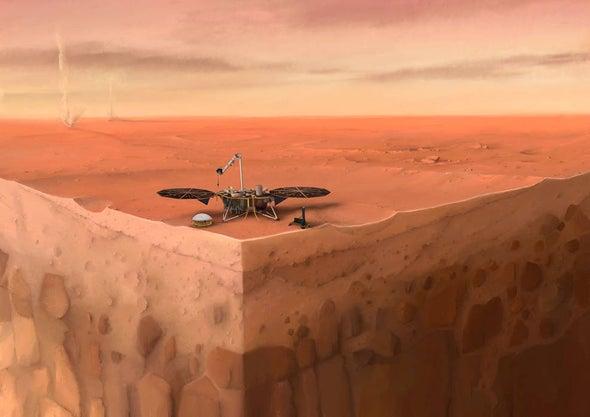 """وكالة ناسا تُنهي مساعي استخدام """"الخُلْد"""" التابع لبعثة إنسايت على سطح المريخ"""