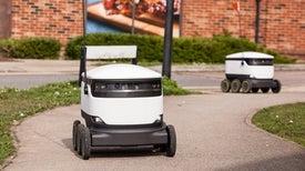 أفسِح الطريق: روبوتات التوصيل تزاحم البشر على أرصفة المشاة