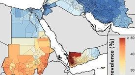 خرائط الدِّقَّة تكشف مدى انتشار سوء التغذية في الأطفال