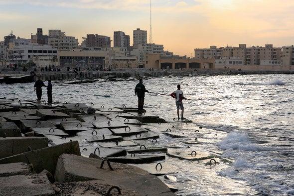 سواحل الدلتا والشواطئ الرملية في شمال أفريقيا أكثر هشاشةً مما نتوقع