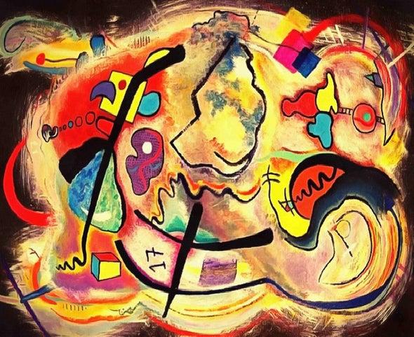 الحالة العقلية تؤثر على رؤية الشخص للأعمال الفنية