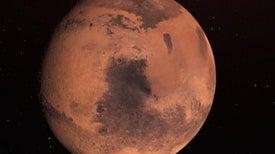 قشرة المريخ تحتوي على خزانات ضخمة من المياه