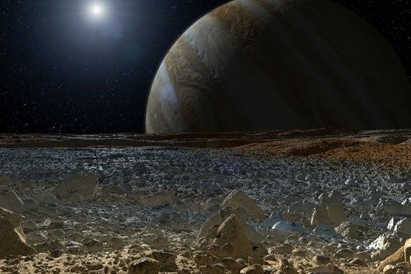 أقمار كوكب المشتري تصنع موجات المدّ والجزر للمحيطات تحت أسطح بعضها