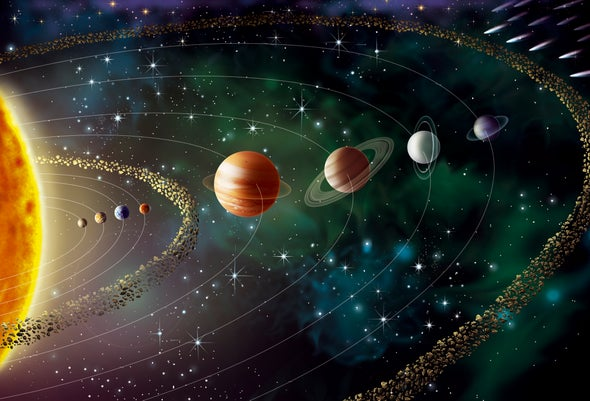 قرص وراء نبتون قد يفسِّر المدارات الغريبة
