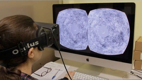 معالجة دُوار الحركة في الواقع الافتراضي