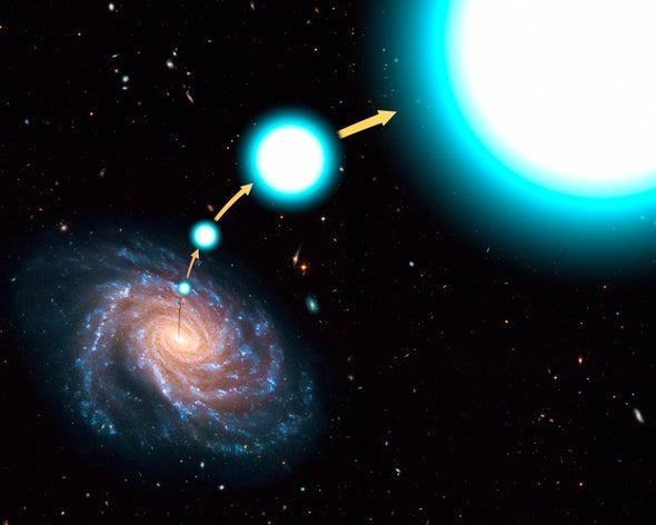 الثقوب السوداء متوسطة الحجم قد تفسّر لغز أسرع نجوم مجرة درب التبانة