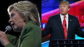 ترامب مقابل كلينتون: تبايُن حاد في الموقف من العلم