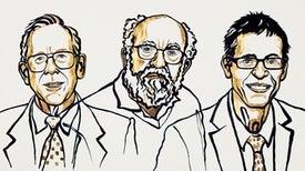 العالِم الأمريكي- الكندي جيمس بيبلز والسويسريان ميشال مايور وديدييه كيلو يفوزون بجائزة نوبل للفيزياء