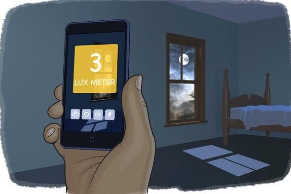 تجربة علمية باستخدام الهاتف الذكي: قياس الضوء بوحدة اللّوكس