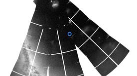 نجم واحد يساعد في تحديد عمر الاصطدام المجري