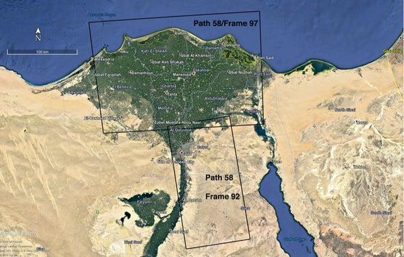 البناء العشوائي وزيادة معدلات التحضر يسببان هبوط دلتا نهر النيل