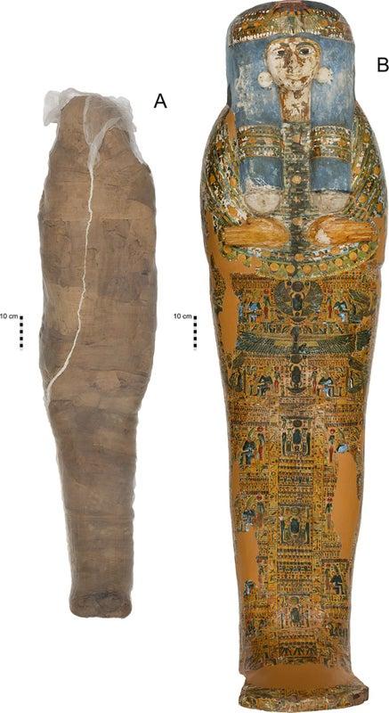 المصريون القدماء استخدموا الطين في عمليات التحنيط