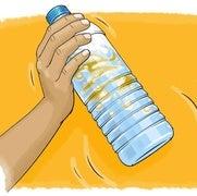 امزج الزيت بالماء!