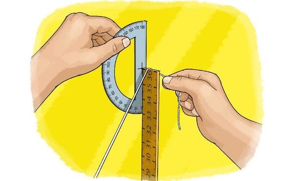 قياس محيط الأرض باستخدام الظل