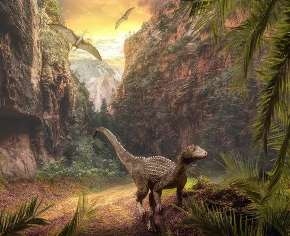 صعود الديناصورات تزامن مع تغيُّرات مناخية ناجمة عن نشاط بركاني