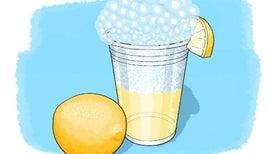 اصنع الليمونادة الفوارة بنفسك