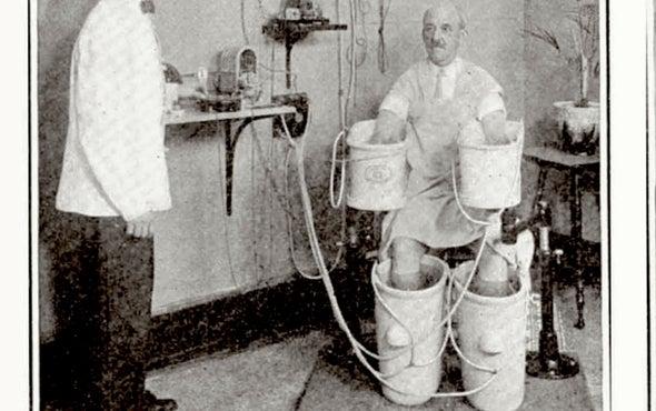 تطوُّر الرعاية الطبية في عام 1916