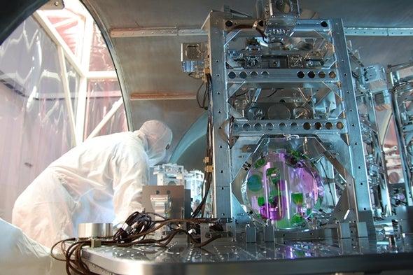 جهاز جديد يساعد على رصد الموجات الثقالية