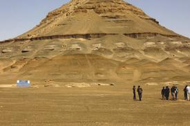 صحراء الواحات البحرية كانت غابات واحترقت قبل 100 مليون عام