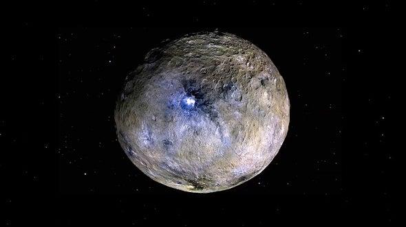 """""""سيريس"""".. ملك حزام الكويكبات يحمل ماء الحياة على سطحه"""