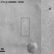 صور جديدة تكشف مصير مسبار المريخ المفقود