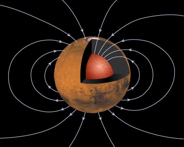 المجال المغناطيسي للأرض كان على وشك الاختفاء قبل 565 مليون عام