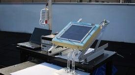 استخراج المياه من هواء الصحاري الجافة باستخدام الطاقة الشمسية