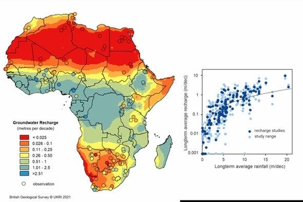 خرائط جديدة للمياه الجوفية تعيد اكتشاف مخزون إفريقيا المائي
