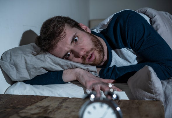 اضطرابات النوم لليلة واحدة تزيد حدة القلق بنسبة 30%
