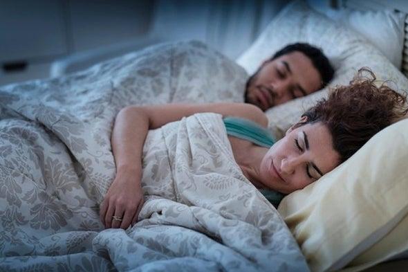 مزايا عديدة لاقتسام الفراش مع شريك الحياة