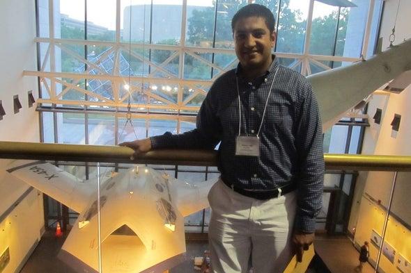 باحث الطيران المصري هيثم عزت: التحليق في البحث العلمي يستلزم مقاومة الإحباط