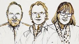 """الأمريكي """"آشكِن"""" والفرنسي """"مورو"""" والكندية """"ستريكلاند"""" يتشاركون جائزة نوبل للفيزياء عن أبحاثهم في مجال فيزياء الليزر"""