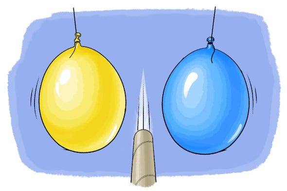 البالون السحري ومبدأ برنولي