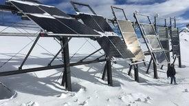 الجبال المغطاة بالثلوج قد تقلل العجز الشتوي من إنتاج الكهرباء
