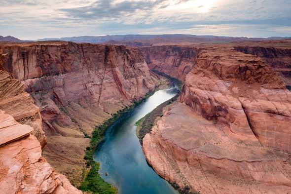 نهر كولورادو يهدده مستقبل جاف