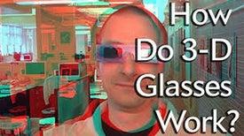 كيف تعمل النظارات ثلاثية الأبعاد