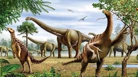 غذاء العمالقة.. كيف أثَّر النظام الغذائي للديناصورات على حياتها