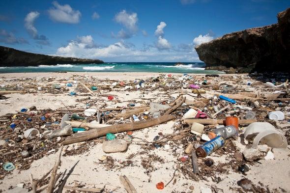 تقنية جديدة للتخلُّص من النفايات البلاستيكية متناهية الصغر