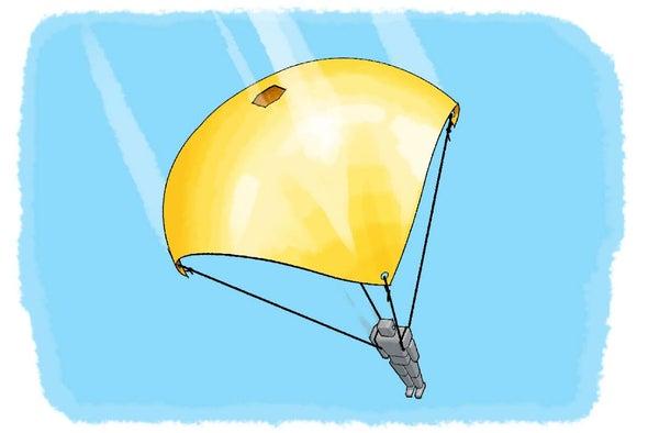 مظلات مثقوبة